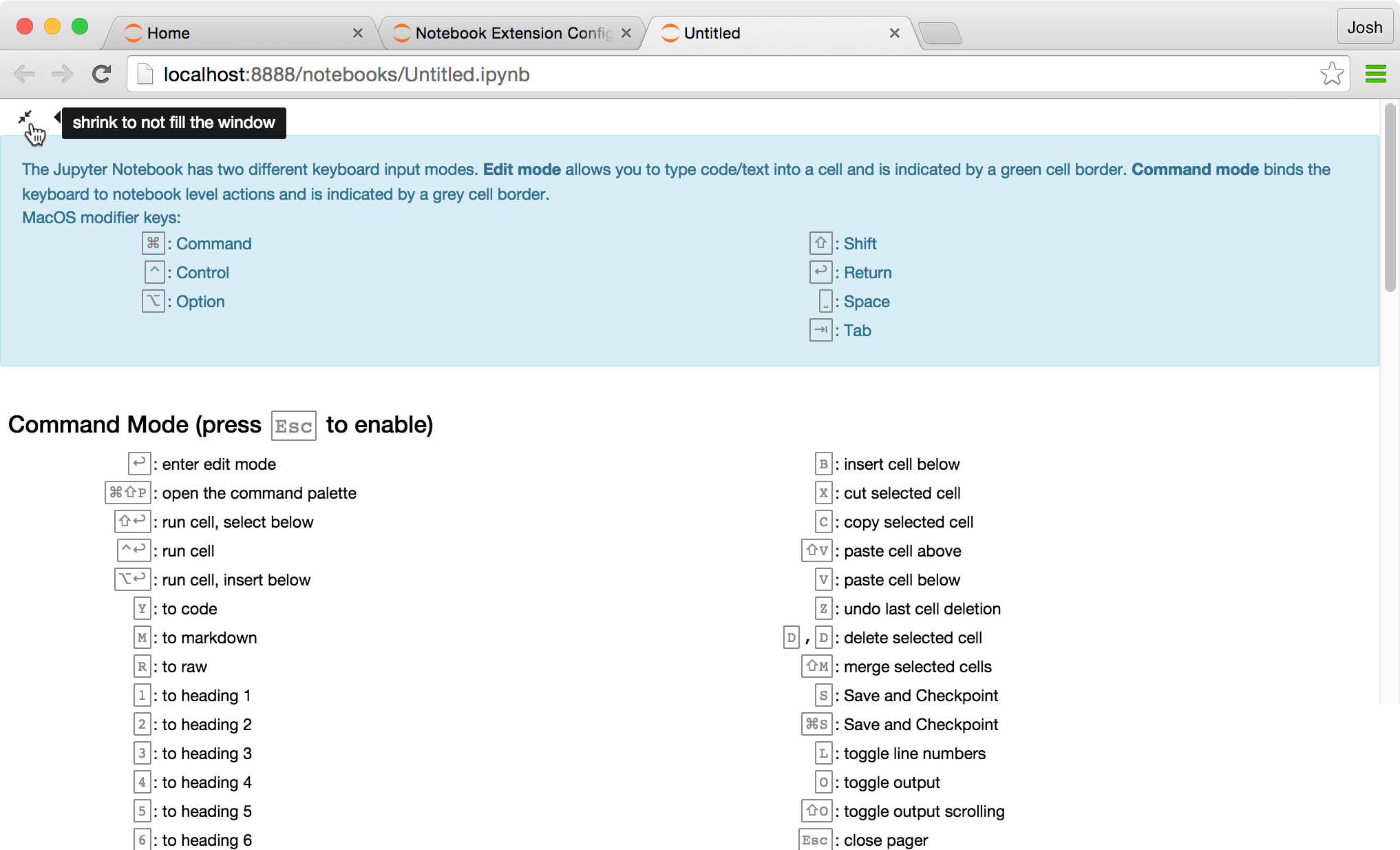 Help Panel — jupyter_contrib_nbextensions 0 5 0 documentation