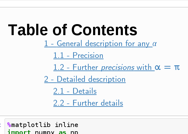 Table Of Contents 2 Jupyter Contrib Nbextensions 0 5 0